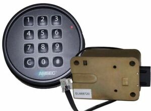 Amsec Esl10xl Digital Safe Lock In A Black Finish Replaces S g 6120 And Lagard