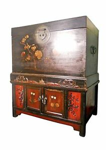 Antique Chinese Chest On Chest 5979 Circa 1800 1849