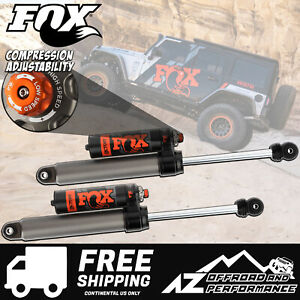 Fox Race Series 2 5 Rear Resi Shocks For 18 19 Jeep Wrangler Jl 2 3 Lift