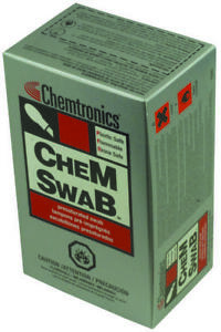 Chemtronics cs25 cleaner swab