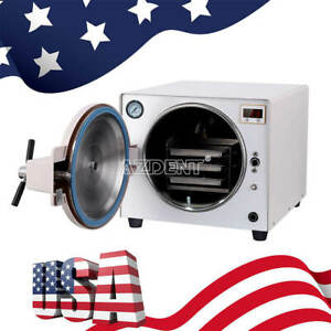 14l Dental Autoclave Steam Sterilizer Medical Sterilization Lab Equipment