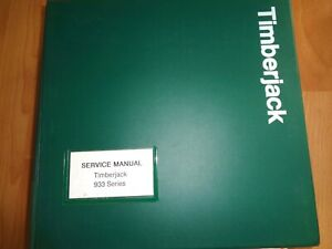 Timberjack 933 Series 933c Forwarder Lokomo Clambunk Service Repair Manual Oem