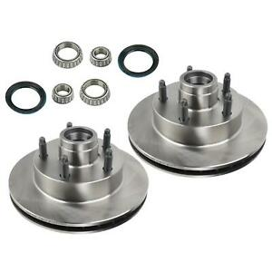 Mustang Ii Disc Brake Rotor And Bearing Seal Kit 5 On 4 1 2 Inch