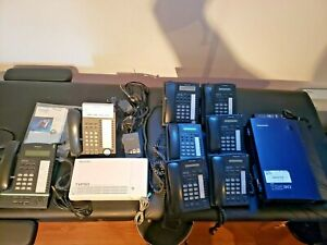 Panasonic Kx tda30c Digital Hybrid Ip pbx System W 8 Phones Kx tvp50c More
