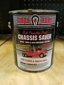Magnet Paint Ucp98 01 Chassis Saver Paint Gray 1 Gallon Can