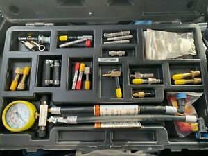 Snap On Fuel Injector Pressure Testing Set Eefi130b