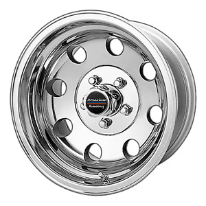 4 New 17x8 0 American Racing Baja Polished 8x165 1 Wheels Rims