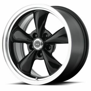 4 New 17x7 5 45 American Racing Torq Thrust M Gloss Black 5x100 Wheels Rims