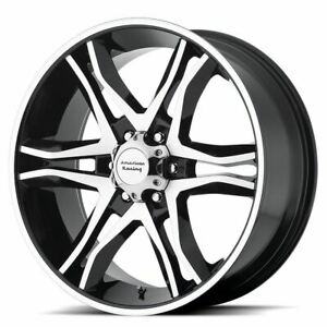 4 New 17x8 0 American Racing Mainline Gloss Black 6x139 7 Wheels Rims