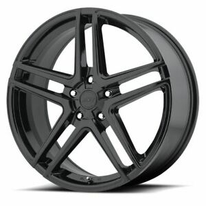 4 New 17x7 5 42 American Racing Ar907 Gloss Black 5x120 Wheels Rims