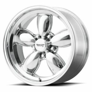 4 New 17x9 0 American Racing Vn504 Polished 5x127 Wheels Rims