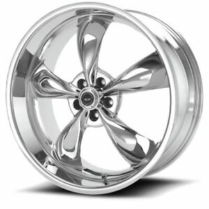 4 New 17x8 0 American Racing Torq Thrust M Chrome 5x127 Wheels Rims