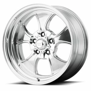 4 New 15x8 18 American Racing Hopster Polished 5x127 Wheels Rims