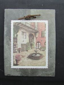 1800 S Antique Roofing Slate Brulatour Courtyard New Orleans French Quarter
