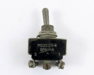 Eaton Ms25201 4 Toggle Switch 3 Position On off on Sp3t 11 A 115 Vac