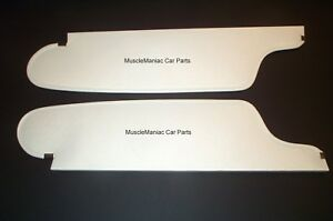 1964 64 Chrysler 300 2 Dr Hardtop Conv Sunvisors Bison Material Colors Avail