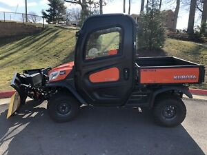 2018 Kubota Rtv X1100c 4x4 Plow Included