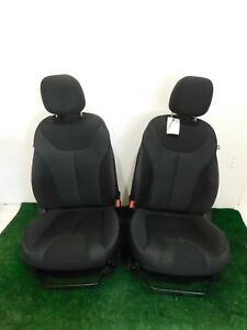 13 14 15 16 Dodge Dart Black Cloth Front Bucket Seats L R Hot Rod Sedan