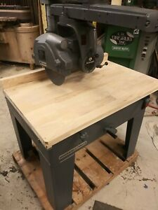 Delta Rockwell Vintage Radial Arm Saw Model 33 382