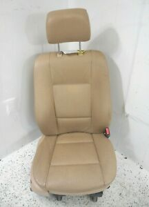 05 Bmw X5 Front Passenger Right Seat Oem Tan Leather