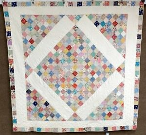 Feedsack Fun C 1930s Boston Commons Vintage Quilt Juvenile Prints
