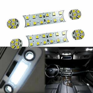 6pcs 52 Smd Led Interior Lights Direct Fit Bmw 1 3 5 M Series E87 E90 E60