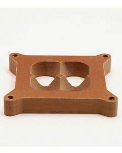 1in Phenolic Blended 4 hole Carb Spacer Canton 85 158
