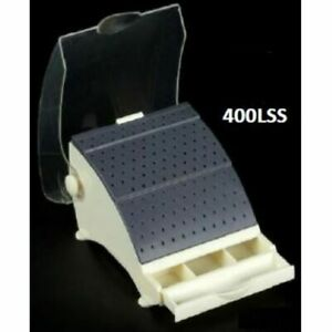 Dental Jewelry Lab Large Bur Holder Block Station With Lid 87 Fg ra