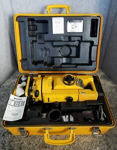 Topcon Gts 2b Semi Total Station Theodolite Surveying Equipment Bt 3q Battery