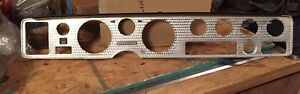 70 81 Firebird Trans Am Turned Aluminum Dash Bezel For Tach Oil Gauges Ac A C