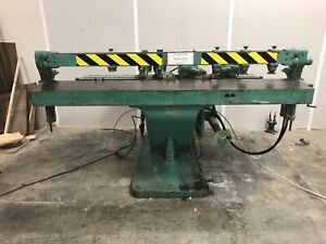 Bm Root D 200 Four Spindle Hydraulic Horizontal Borer In Good Working Condition