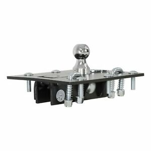 Curt 61052 Over Bed Folding Ball Gooseneck Hitch