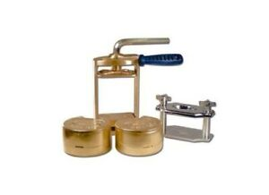 Dental Lab Press Compress With Two Flask Bronze Reline Jig