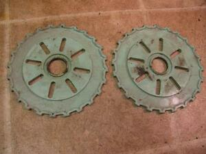2 International C7 24x Corn Planter Plates Mccormick Ih Ihc