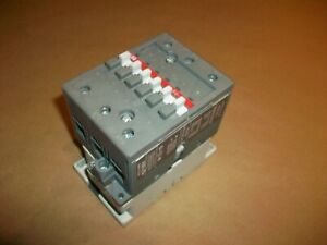Abb Size 2 Contactor A50 30 120v Coil 45a 600v Used