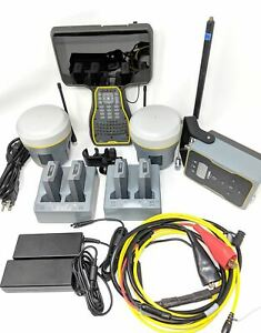 Trimble R10 Base Rover With Tsc7 And Tdl450h Complete Rtk Kit Package For Surv