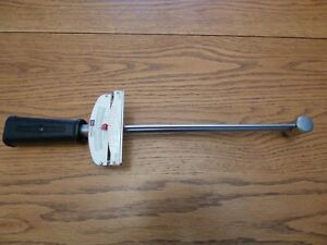 Vintage Craftsman Usa 9 44644 Beam Type Torque Wrench 3 8 Dr 0 600 In Lb