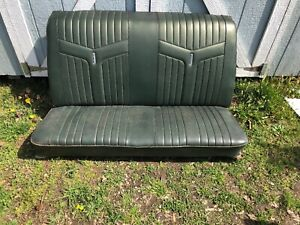 1968 1969 1970 1971 1972 Gto Cutlass Chevelle Convertible Rear Seat Back Seat