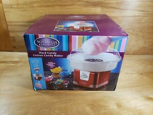 New Nostalgia Electric Commercial Hard Cotton Candy Machine Maker Sugar Free