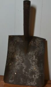 Vintage Shovel Head Red Arrow Military Railroad Coal Tempered 2 Rare Antique Old