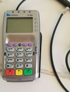 Verifone Vx 805 Emv Swipe Nfc Apple Pay Reader Pin Pad