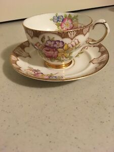 Rosina Bone China Tea Cup Saucer