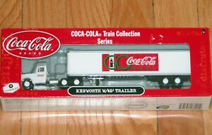 ATHEARN 8222 COCA COLA TRAIN COLLECTION SERIES KENWORTH WITH 45' TRAILER # 3