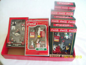 Coca Cola Christmas Ornaments (NEW IN BOX) - Total of 30