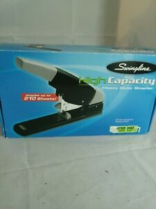 Swingline High Capacity Heavy Duty Stapler 210 sheet Black gray 90002
