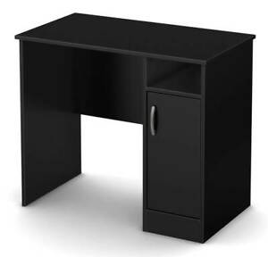 Small Desk With Drawers In Black Finish id 3092346