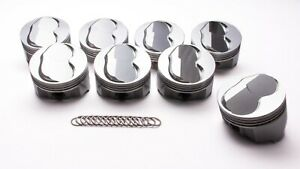 Sbf Forged Domed Piston Set 4 030 Bore 6 8cc Icon Pistons Ic736 030