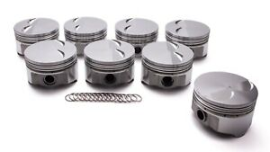 Pontiac 400 Forged F t Piston Set 4 150 4 5cc Icon Pistons Ic890 030