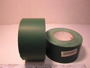 2 Ability One 7510000745160 Dark Green Cotton Cloth Waterproof Tape 3 X 60 Yd