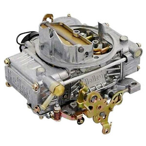 Holley 0 80457sa Carburetor 4160 Series 4v 600 Cfm Electric Choke Aluminum Polis